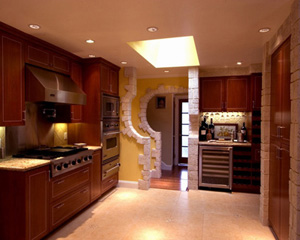 Full Kitchen View ©Valentina-Interiors & Designs