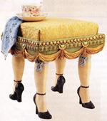 Folie Bergère Ottoman