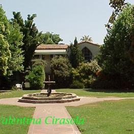 California courtyard