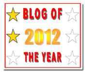 Blog of the Year Award 2 star thumbnail