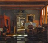 Emmanuel-de-WITTE-1617-92-Interieur-avec-une-femme-jouant