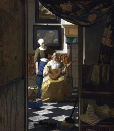Jan Vermeer - Love Letter