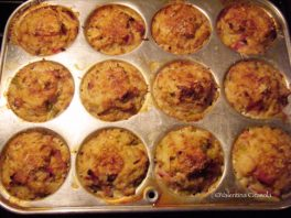 Cauliflower muffins