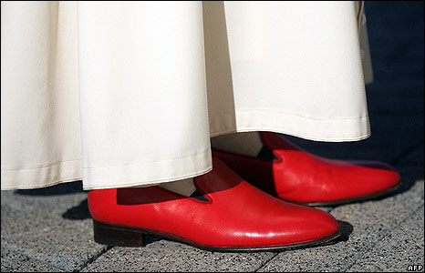 Pope'sRedShoes