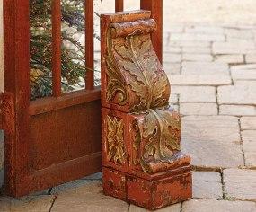 Hand-Carved Mahogany Corbel-NapaStyle