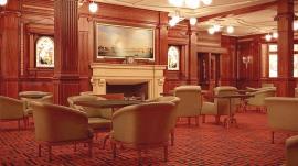Titanic Reproduction Smoking Room - Courtesy Blue Star Line