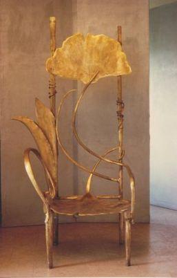 Trône de Pauline, Claude Lalanne -1990