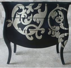 Painted Dresser-http://www.nationalfurnituresupply.com
