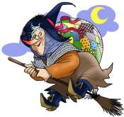 Befana - Found on http://solidarietatv.altervista.org/tag/villaggio-solidale