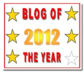 Blog of the Year Award 5 star jpeg