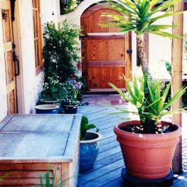 California courtyard - Photo taken with permission