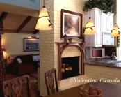 Client's dining looking into living