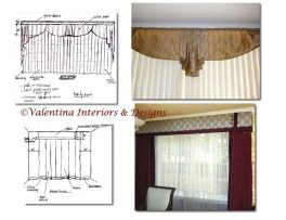 Living and dining window treatments