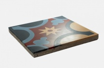 Cement tile - Found on: http://www.coloursmorocco.com/cement-floor-tiles-breno.html