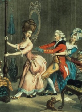 Tight Lacing, or Fashion Before Ease, John Collet, 1770-1775