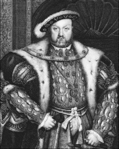 Henry VIII in codpiece