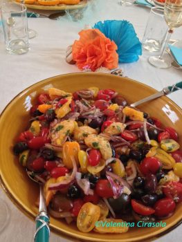 Tomatoes, Orange Salad