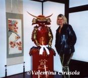 In the Samurai village restaurant