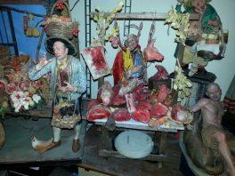 Butcher Store Scene