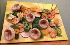 Colored Pasta Composition at Pastificio Marella