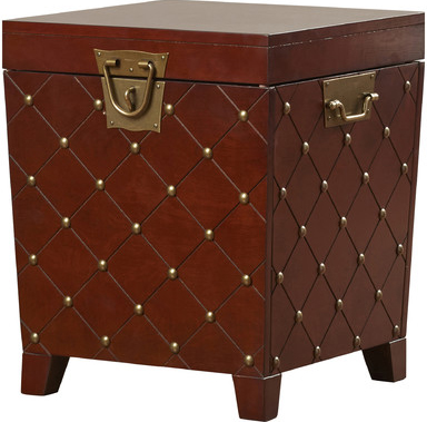 Small Trunk Side Table with Storage - Wayfair