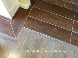 Wood floor and tile planks