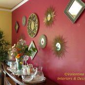 Dining-Mirror Wall - ©Valentina Interiors & Designs