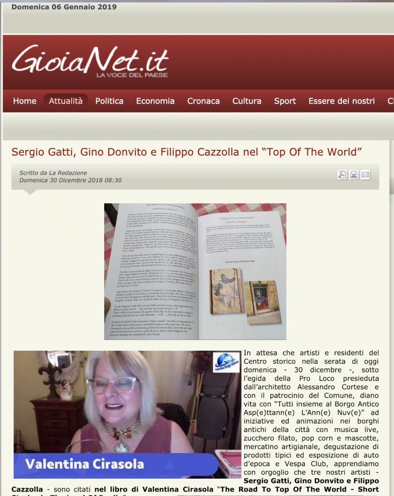Article on GioiaNet.it