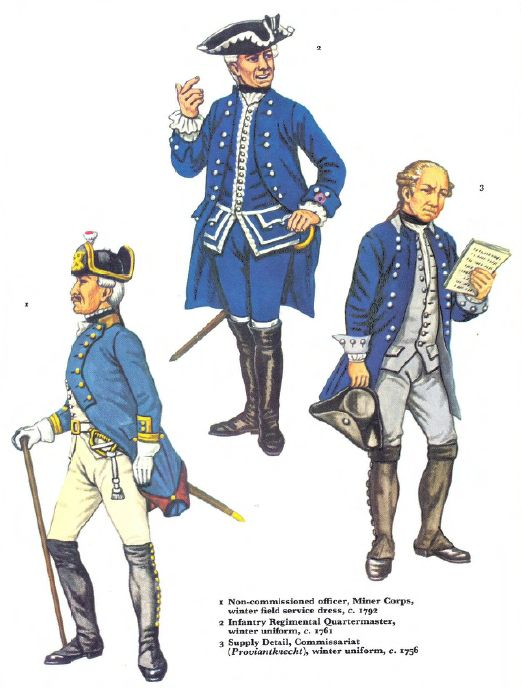 Osprey, Men-At-Arms #016 Frederick the Great's Army