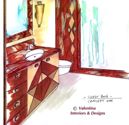Guest Bath Concept One