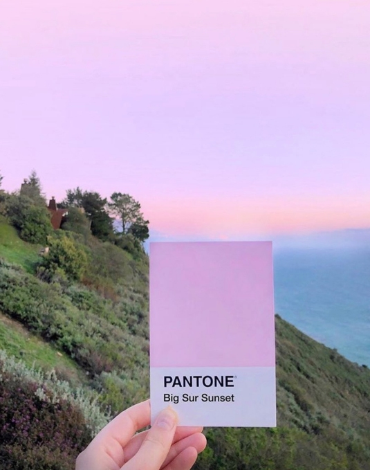 Pantone Bug Sur Sunset