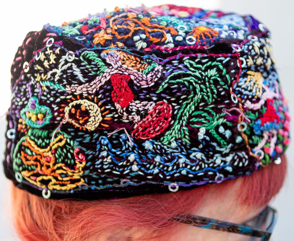 Ethnic Hat by Cicely Gilman