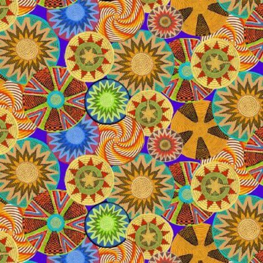 Mandala Fabric