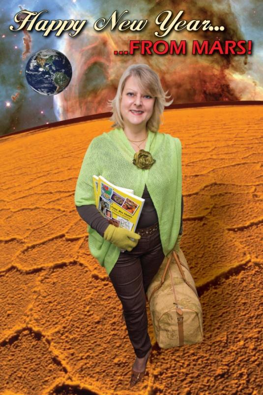 Valentina on Mars