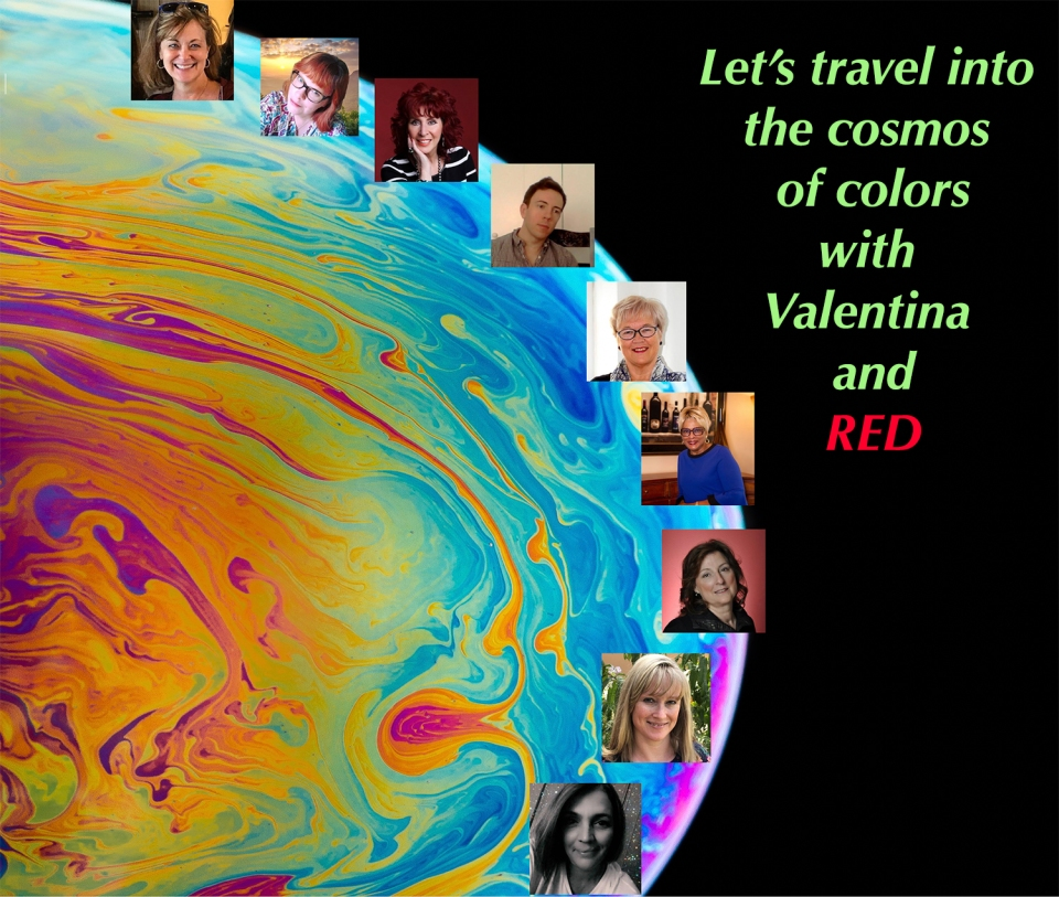Let's travel into the cosmos of colors with Valentina and RED