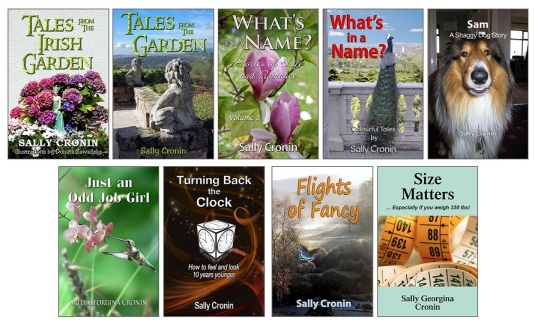 Sally Cronin's Covers for 2018