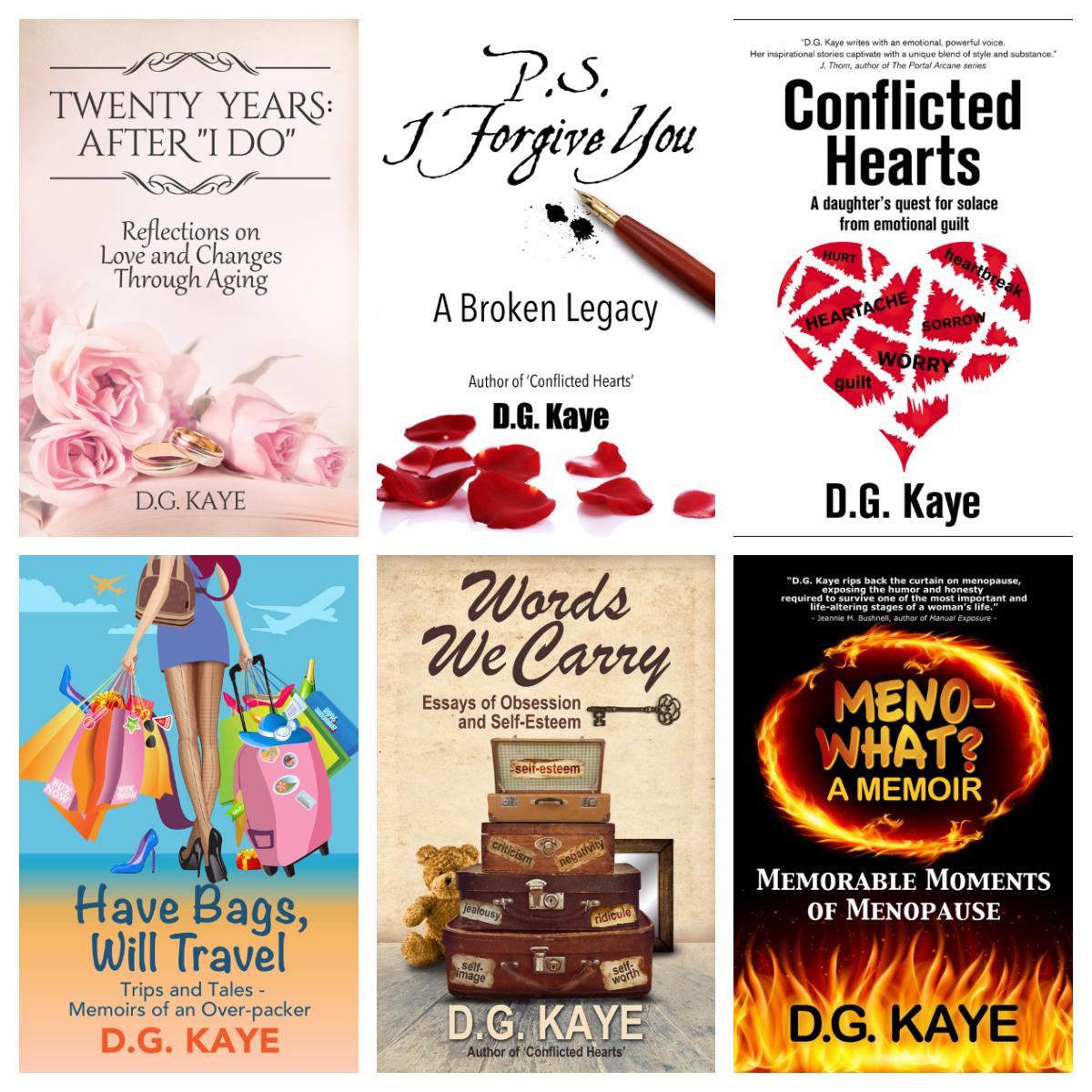 My six books