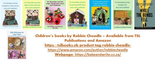 Robbie Cheadle's Books