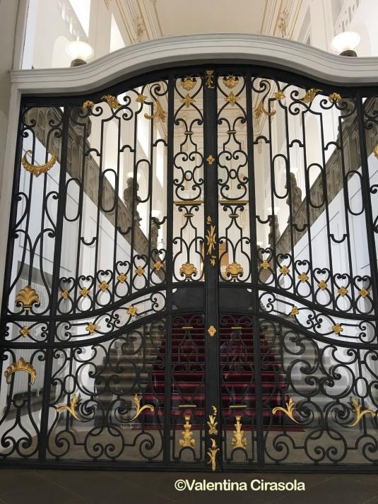 Royal Door as Prague Palace