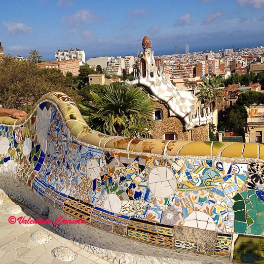 Seatings Park Güell