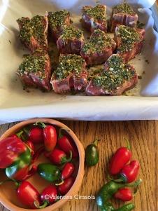 Lambchop, chili peppers